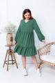 Платье Gold Style 2251 изумрудно-зеленый