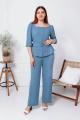 Комплект Gold Style 2478 серо-голубой