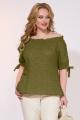 Блуза Liliana 965 оливковый