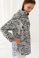 Куртка Colors of PAPAYA 1538 чёрно-белый