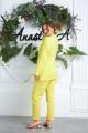Женский костюм Anastasia 580 лимон.2