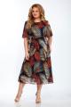 Платье Emilia Style 2077/1 охра