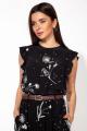 Блуза 20461 черный