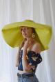 Шляпа TSURAN PANBIGYE желтый