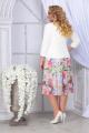 Женский костюм Ninele 5839 зеленые-розы