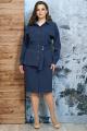 Блуза, Юбка, Жакет Белтрикотаж 4341 синий