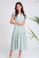 Платье SandyNa 13933 бирюзовый