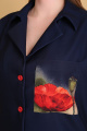 Брюки, Блуза Andrea Style 0372 синий