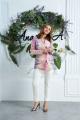 Женский костюм Anastasia 578 сирень,молочный