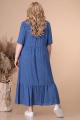 Платье Линия Л Б-1728 синий_горох