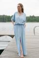 Платье MAX 4-002.2 голубой
