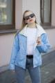 Куртка Sisteroom КДД-013 голубо-молочный