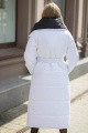 Пальто Sisteroom П-002 черно-белый