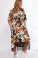 Юбка, Платье Angelina & Сompany 555 оранж-черный
