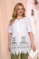 Блуза Liliana 969 белый