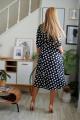 Платье Danaida 2038 горох