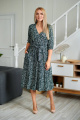 Платье Danaida 2038 зеленые_цветы