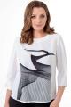 Блуза ELITE MODA 5206 молочный