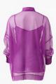 Блуза Lakbi 52096 сиреневый