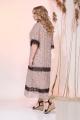 Платье Liliana 932N беж+черный