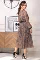 Платье Мода Юрс 2567 зеленый_узор