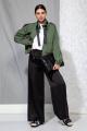 Куртка Beautiful&Free 4057 зеленый