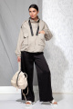 Куртка Beautiful&Free 4057 серо-бежевый
