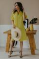Платье Temper 412 желтый