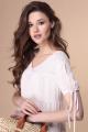 Платье 1-2168 пудра