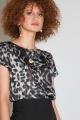 Блуза Moveri by Larisa Balunova 2847 анимал_принт