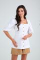 Блуза SandyNa 13988 белый