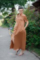 Платье YFS 0809-21 горчица