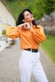 Рубашка YFS 5609 оранжевый