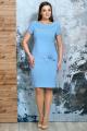 Платье Белтрикотаж 6254 голубой