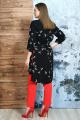 Брюки, Блуза Белтрикотаж 6847 красный-черный