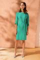 Платье Nelva 5920 изумрудный