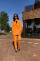 Женский костюм Karina deLux B-434 манго