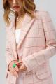 Женский костюм PiRS 3365 розовая_клетка-белый