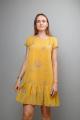 Платье Mita ЖМ1041А желтый