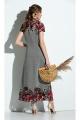 Платье Diva 1300-2 серый