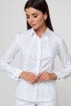 Блуза Anelli 330 белый_якоря