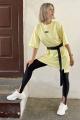 Платье Faldas ФС-19.170 светло-жёлтый