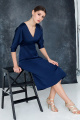Платье Moveri by Larisa Balunova 5468 синий