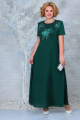 Блуза, Платье Ninele 7333 изумруд