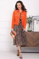 Куртка Мода Юрс 2400К оранжевый