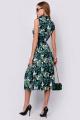 Платье PATRICIA by La Cafe NY14239 черный,зеленый,белый