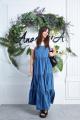 Сарафан, Майка Anastasia 630 т.голубой