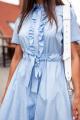 Платье KRASA 126-21 голубой