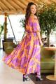 Платье Anastasia 656 оранженвый