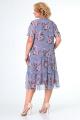 Платье Мишель стиль 974/1 серо-розовый